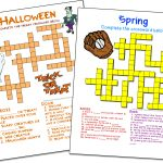 Crossword Puzzle Maker | World Famous From The Teacher's Corner | Make Your Own Worksheets Free Printable