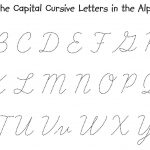 Cursive Writing Alphabets Cursive Writing Alphabet Worksheets Grass | Cursive Writing Worksheets Printable Capital Letters
