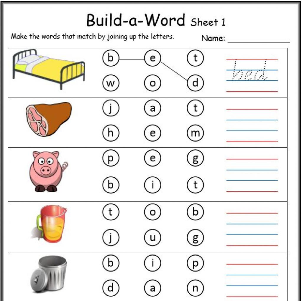 Cvc Worksheets Printable Work Sheets • Keepkidsreading With Regard | Cvc Words Worksheets Free Printable