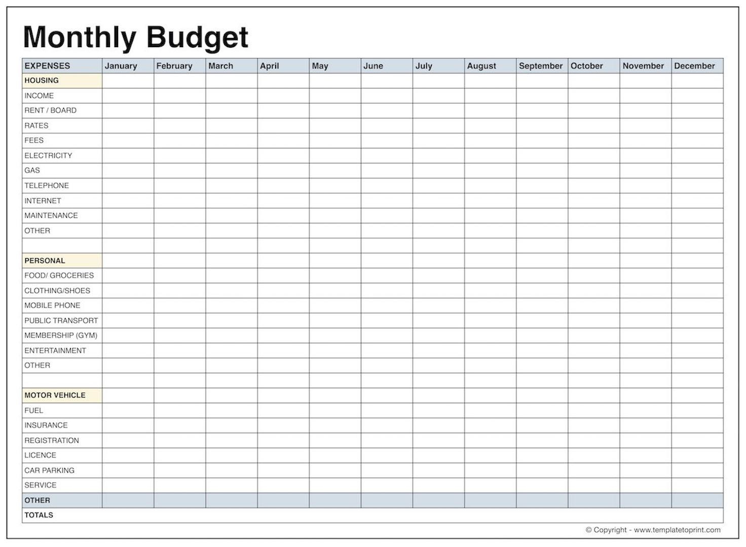 Daily Budget Spreadsheet Family Template Free E2 80 93 Collections | Daily Budget Worksheet Printable