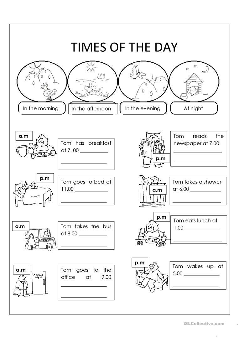 Day And Night Worksheet - Free Esl Printable Worksheets Madeteachers | Day And Night Printable Worksheets