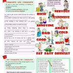 Double Comparatives Worksheet   Free Esl Printable Worksheets Made   Comparative Worksheets Printable