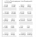 √ Printable Writing Worksheets For First Grade   Free Printable | Free Printable Language Arts Worksheets For 1St Grade