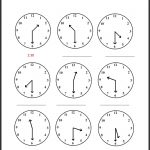 √ Telling Time Printable Worksheets First Grade Inspirationa   Free | Printable Clock Worksheets First Grade
