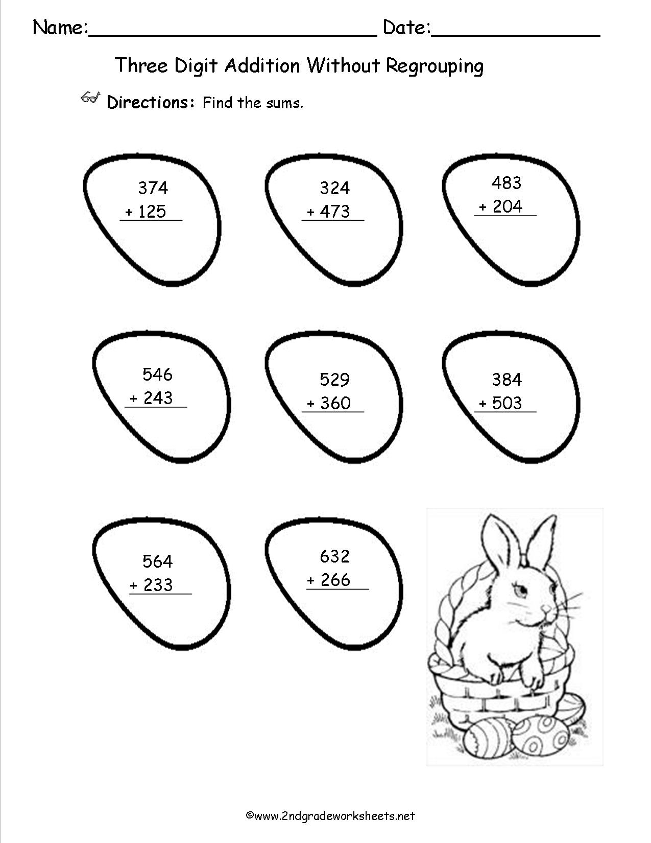 Easter Worksheets And Printouts - Free Printable Easter Worksheets | Free Printable Easter Worksheets For 3Rd Grade