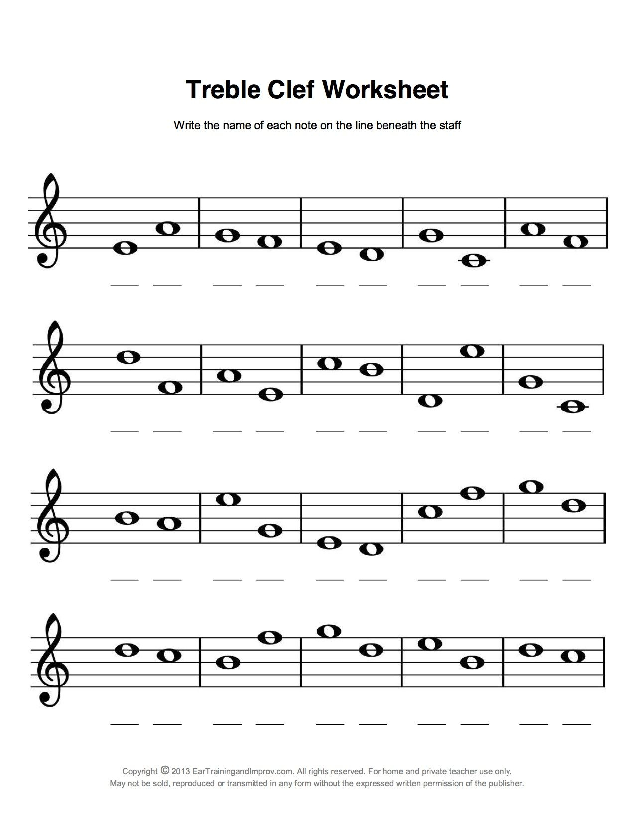 Easy Fun Music Theory | Music Theory | Music, Music Theory | Free Printable Music Theory Worksheets
