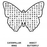Easy Word Search Printable | Kiddo Shelter | Kids Worksheets | Butterfly Word Search Printable Worksheets