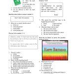 English Test For Grade 7 Worksheet   Free Esl Printable Worksheets | Year 7 Worksheets Free Printable