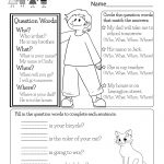 English Worksheet   Free Kindergarten English Worksheet For Kids | English Worksheets Free Printables