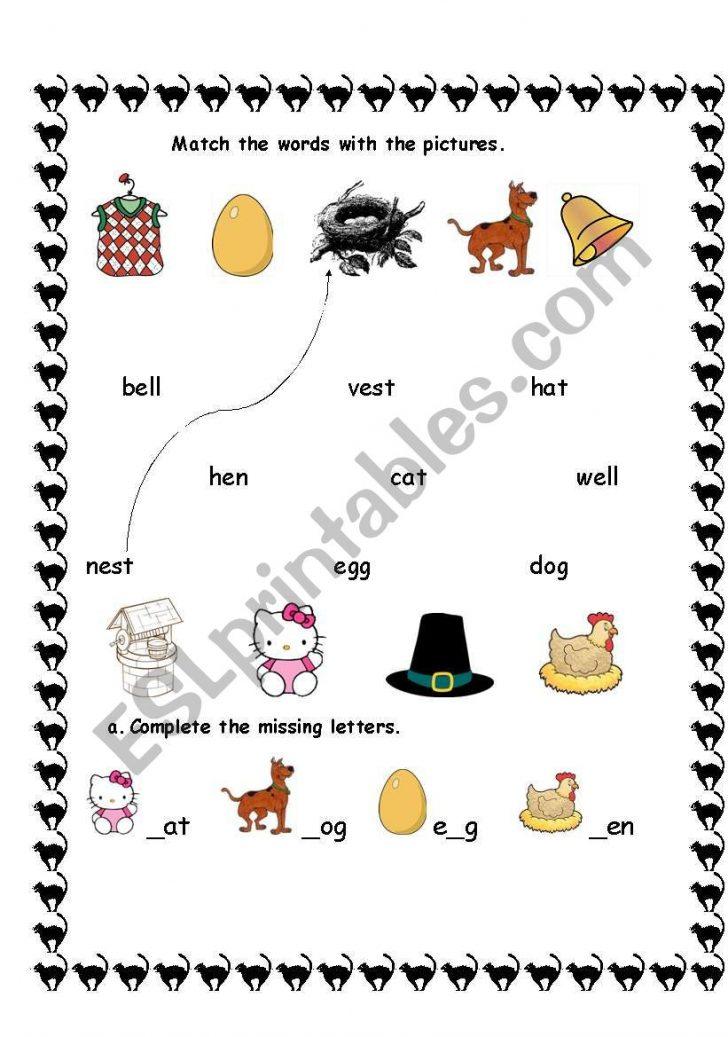 1St Grade Vocabulary Worksheets Printable