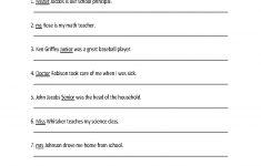 9Th Grade English Worksheets Printable Free