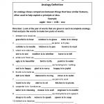 Englishlinx | Analogy Worksheets | Analogy Worksheets For Middle School Printables