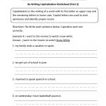Englishlinx | Capitalization Worksheets   Free Printable Worksheets | Free Printable Worksheets For Punctuation And Capitalization