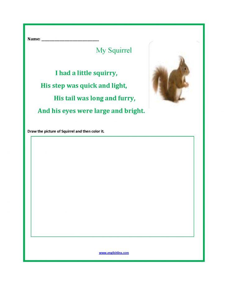 Free Printable Poetry Worksheets