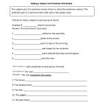 Englishlinx | Subject And Predicate Worksheets   9Th Grade English | Year 9 English Worksheets Printable
