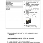 Environment, Reduce, Reuse, Recycle (Video Lesson) Worksheet   Free | Recycle Worksheets Printable
