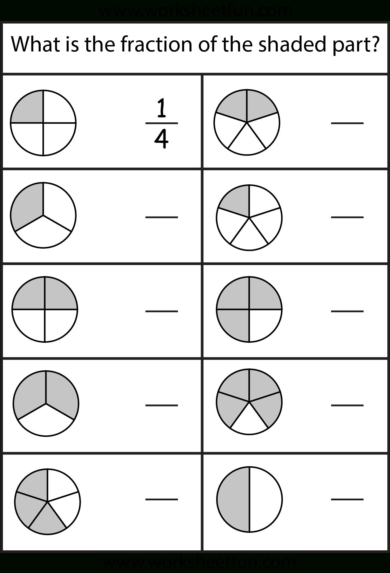 Equivalent Fractions Worksheet / Free Printable Worksheets | Free Printable Fraction Worksheets For Kindergarten