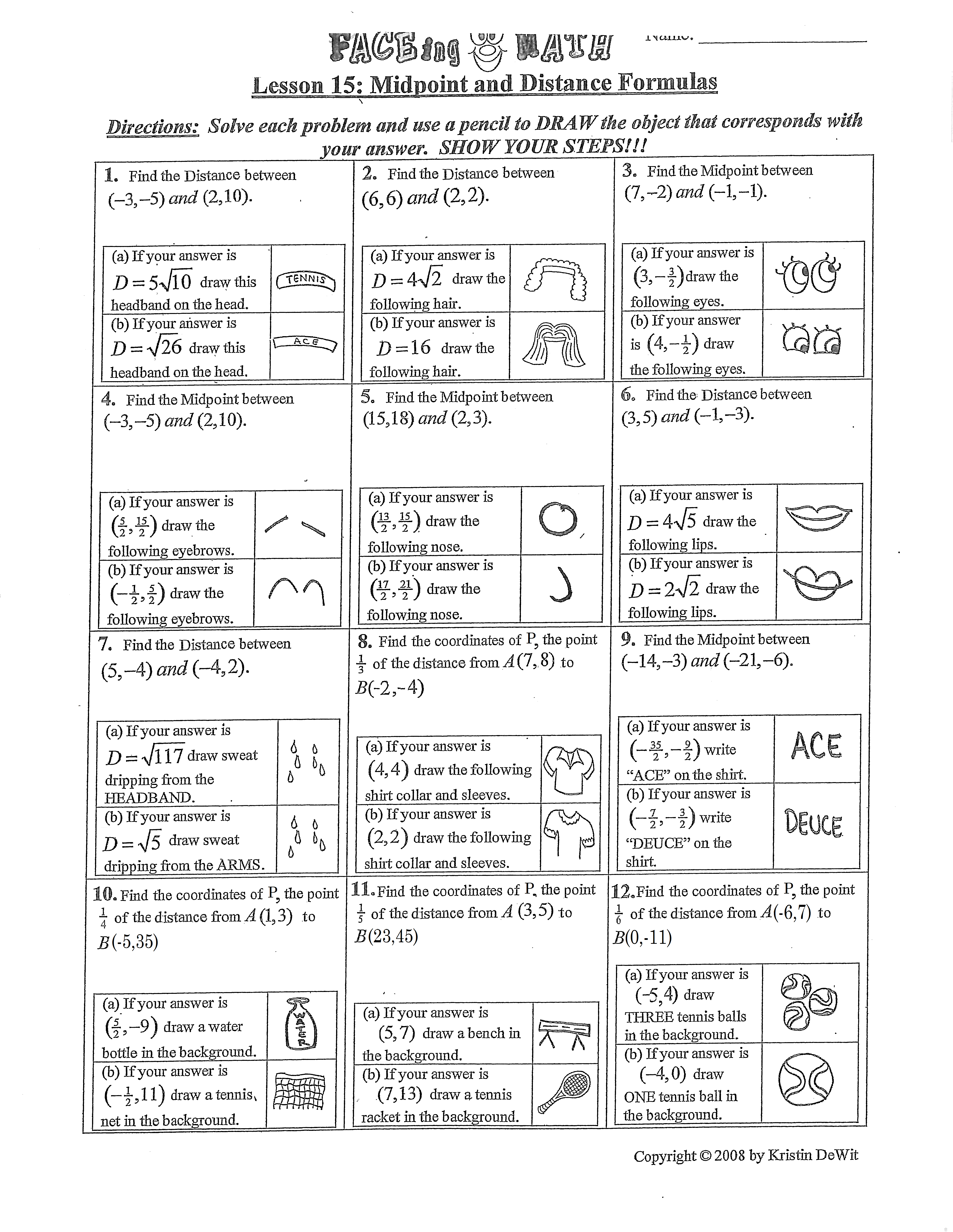Faceing Math Printable Worksheets The Best Worksheets Image   Faceing Math Printable Worksheets