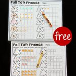 Fall Ten Frame Printables   The Stem Laboratory | Frame Games Printable Worksheets