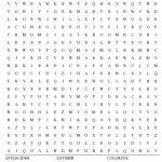 Fall Word Search Free Printable Worksheet   Hard Word Searches Printable Worksheets