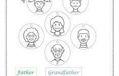 Family Members Worksheet – Free Esl Printable Worksheets Made | Free Printable Worksheets For Preschool Teachers