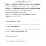 Figurative Language Worksheets | Hyperbole Worksheets | Printable Worksheets For 6Th Grade Language Arts