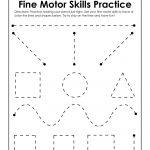 Fine Motor Skills Practice Worksheet | Preschool | Motor Skills | Fine Motor Skills Worksheets And Printables