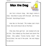 First Grade Printable Reading Worksheets | First Grade Printable | Free Printable 4Th Grade Reading Worksheets