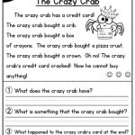 First Grade Reading Worksheets Free Report Templates Math And 1St | Free Printable Reading Worksheets For 1St Grade