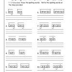 First Grade Writing Worksheets Free Printable – Worksheet Template | 2Nd Grade Language Arts Worksheets Free Printables