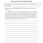 Fixing Paragraphs With Run On Sentences Worksheets | Englishlinx | Free Printable Worksheets On Run On Sentences