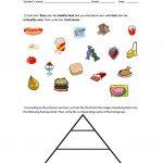 Food Pyramid   Healthy And Unhealthy Food. Worksheet   Free Esl | Free Printable Nutrition Worksheets