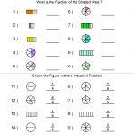 Fractions Worksheets | Printable Fractions Worksheets For Teachers | Free Printable First Grade Fraction Worksheets