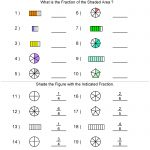 Fractions Worksheets | Printable Fractions Worksheets For Teachers | Free Printable Fraction Worksheets Ks2