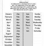 Free Abbreviation Worksheets And Printouts | Free Printable Abbreviation Worksheets