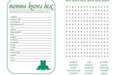 Free Baby Shower Games Printable Worksheets Cute Loving Boy Stuff | Free Baby Shower Games Printable Worksheets