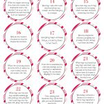 Free Biblical Advent Calendar Printable | Christmas Crafts | Advent Printable Worksheets