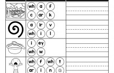 Free Printable Phoneme Segmentation Worksheets