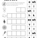 Free Digraph Wh: Phonics Word Work {Multiple Phonograms} | Tutoring | Free Printable Phoneme Segmentation Worksheets