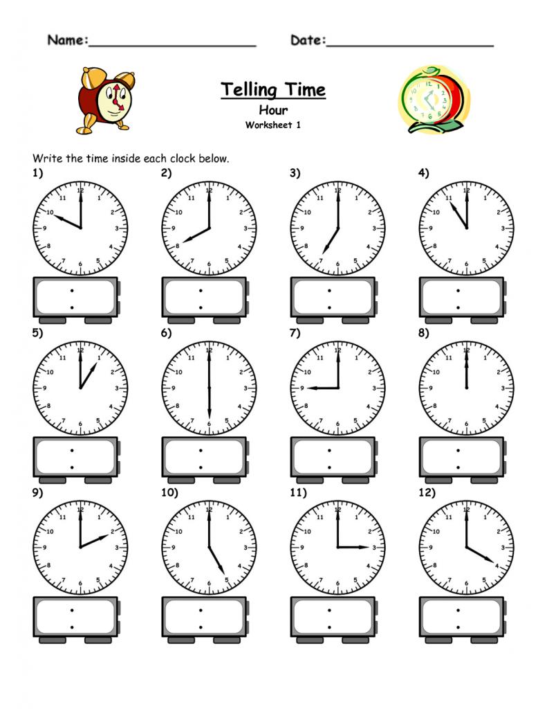 Free Elapsed Time Worksheets | Kiddo Shelter | Elapsed Time Worksheets Free Printable