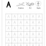 Free English Worksheets   Alphabet Tracing (Capital Letters | Hindi Alphabets Tracing Worksheets Printable