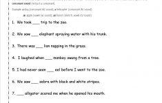Free English Grammar Exercises Printable Worksheets
