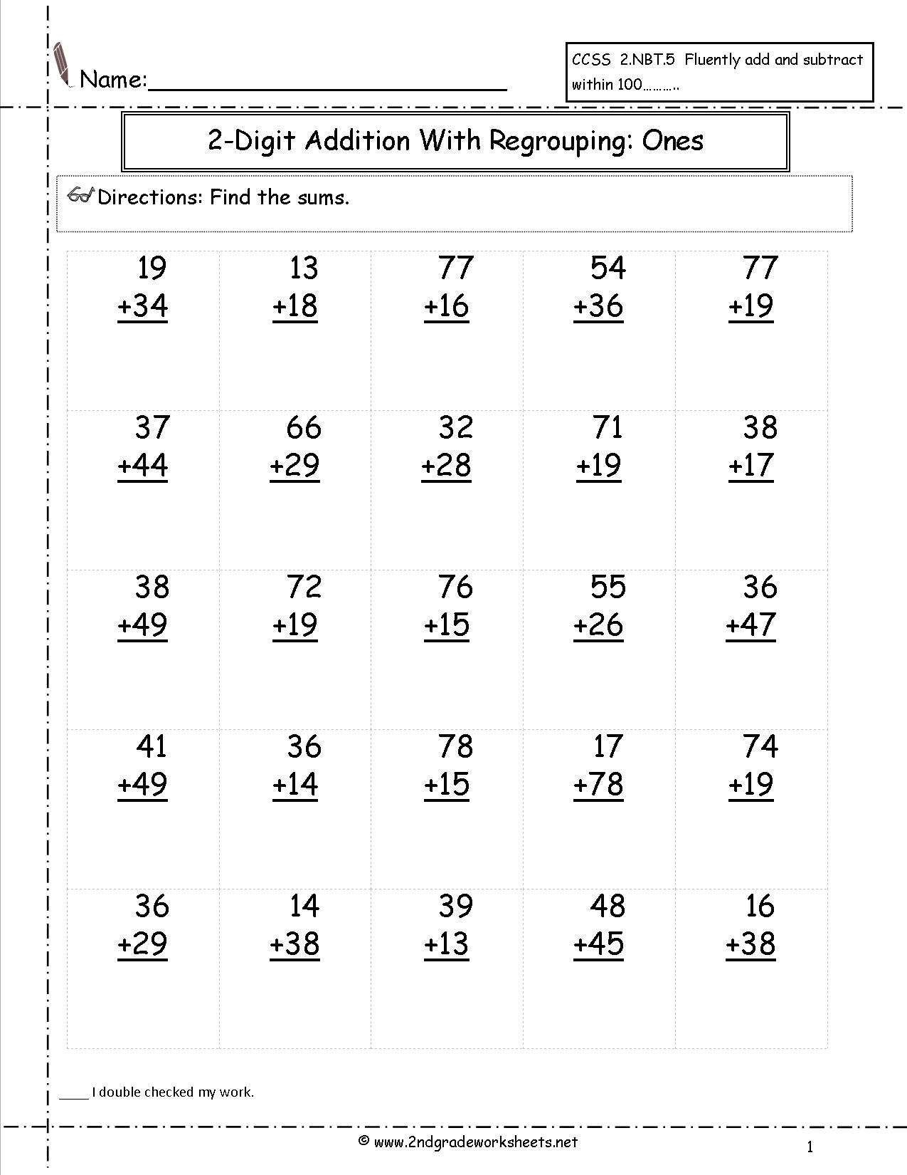 Free Math Worksheets And Printouts - Free Printable Subtraction | Printable Subtraction Worksheets