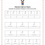 Free Math Worksheets For Middle School Worksheet Thanksgiving   Free Printable Math Mystery Picture Worksheets