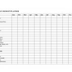 Free Online Budget Template And Free Printable Budget Worksheets Nbd | Free Online Printable Budget Worksheet
