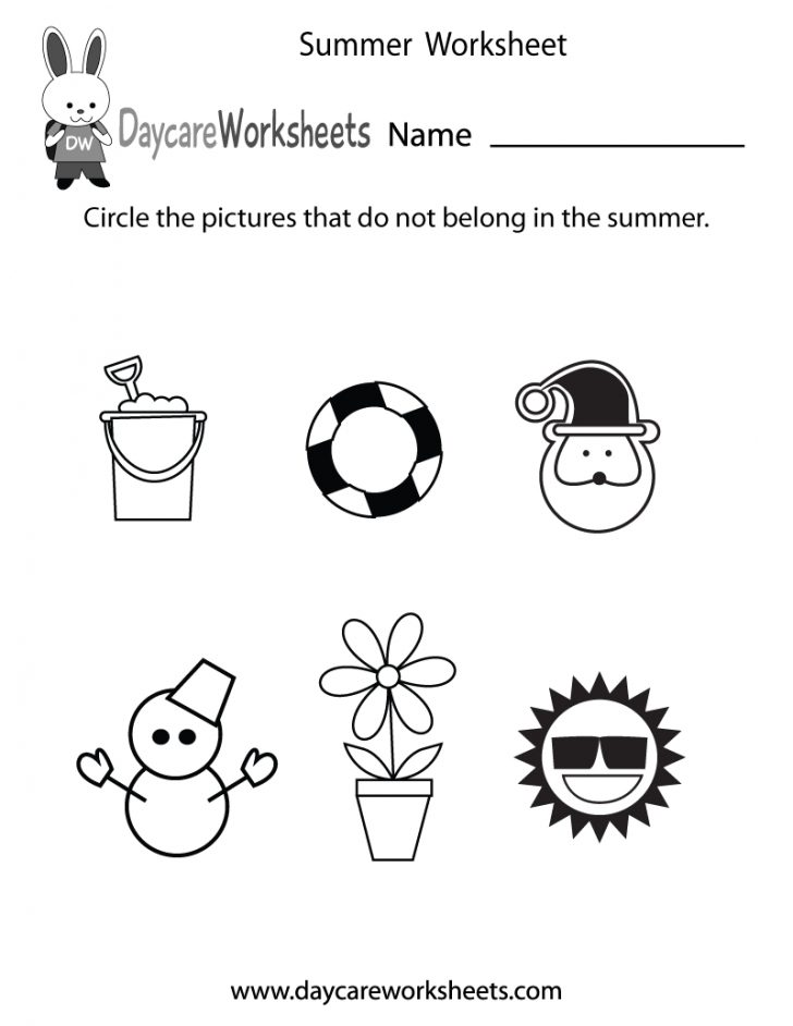 Free Printable Seasons Worksheets