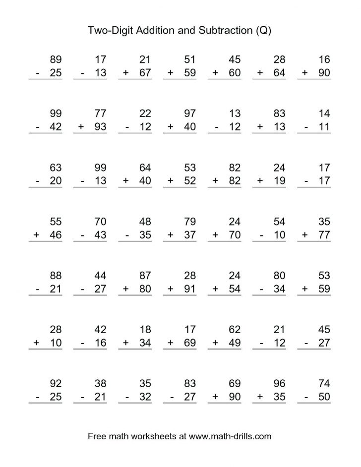 Printable 2Nd Grade Math Worksheets