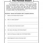 Free Printable 7Th Grade Reading Comprehension Worksheets Grade 3 | Free Printable English Comprehension Worksheets For Grade 4