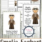 Free Printable Amelia Earhart Unit Study   Money Saving Mom® : Money | Amelia Earhart Free Worksheets Printable