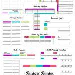 Free Printable Budget Binder Worksheets | Free Printables | Printable Budget Binder Worksheets